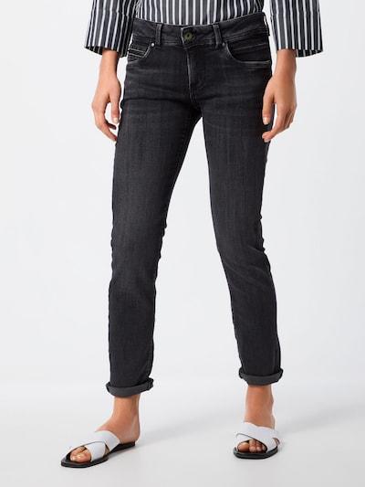Pepe Jeans Jeans 'NEW BROOKE' in de kleur Black denim: Vooraanzicht