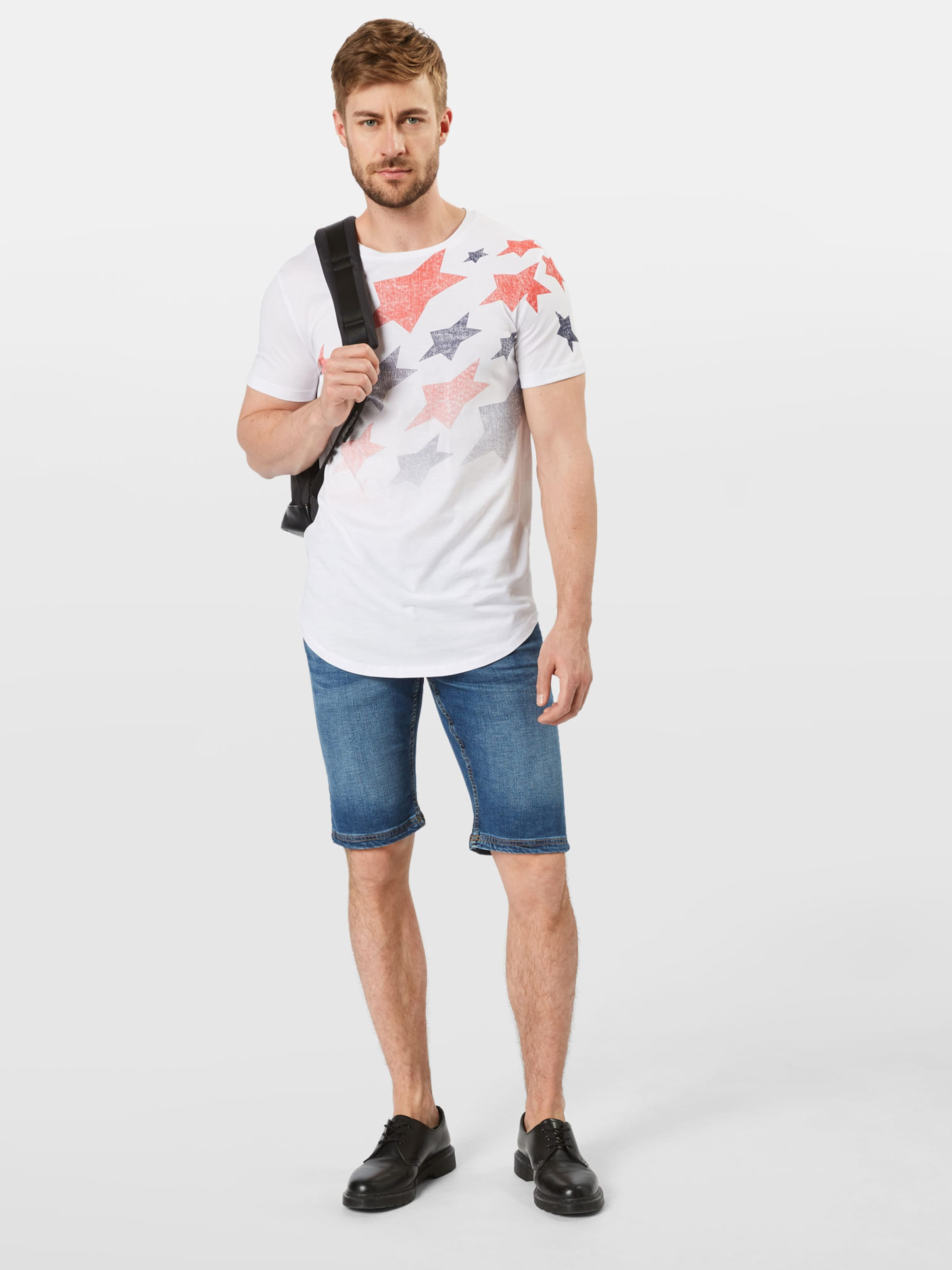 Tom Tailor T Denim Weiß In shirt eH92bYWDIE