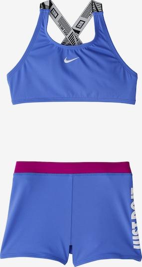 NIKE Bikini in royalblau / cyclam / schwarz / weiß, Produktansicht