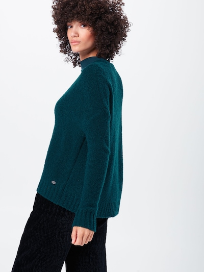 EDC BY ESPRIT Džemperis pieejami tumši zaļš: Aizmugures skats