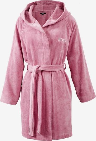 BOSS Home Bademantel 'PLAIN' aus Samt in rosa, Produktansicht
