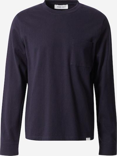 Tricou 'Arrie' Samsoe Samsoe pe albastru închis, Vizualizare produs