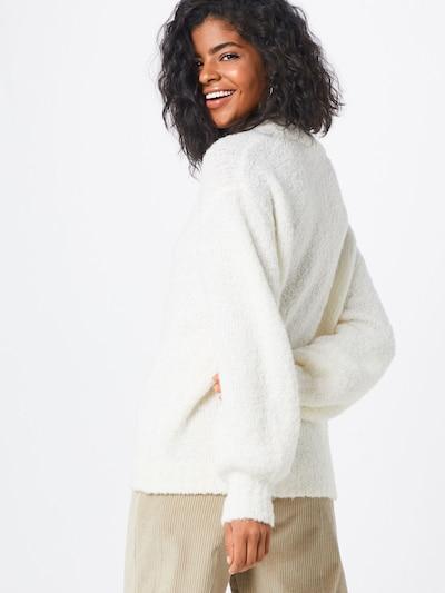 Designers Remix Pullover 'Gael' in weiß: Rückansicht