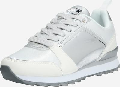 MARIAMARE Sneakers laag 'NARA' in de kleur Zilver / Wit, Productweergave