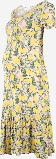 MAMALICIOUS Robe 'DEANA' en jaune clair, Vue avec produit