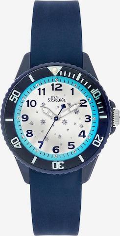 s.Oliver Uhr 'SO-3634-PQ' in Blau