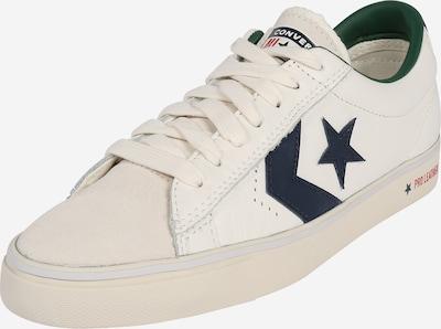 CONVERSE Sneaker in hellbeige / dunkelblau: Frontalansicht