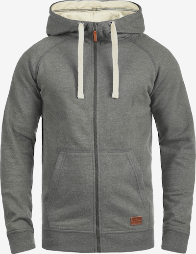 BLEND Sweatjacke 'Speedy' in grau, Produktansicht