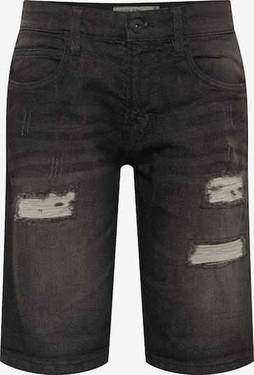 INDICODE JEANS Jeans 'Kaden Holes' in black denim, Produktansicht