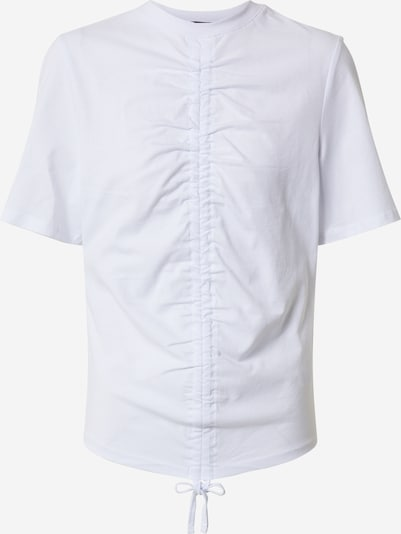 Rut & Circle Shirt 'ELLEN DRAWSTRING' in de kleur Wit, Productweergave