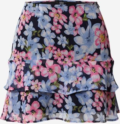 Dorothy Perkins Rok 'Lola Skye Floral Peplum' in de kleur Blauw / Pink, Productweergave
