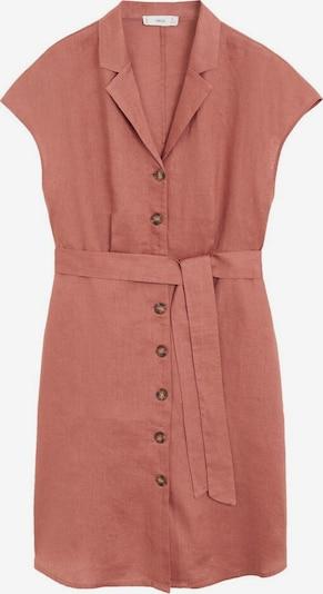 MANGO Kleid in rostrot, Produktansicht