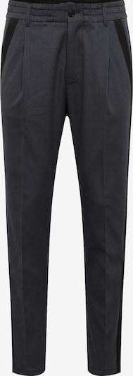 DRYKORN Pantalon à pince en gris foncé / noir: Vue de face