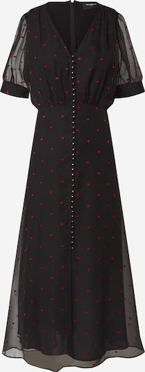 The Kooples Kleid 'ROBE' in rot / schwarz, Produktansicht