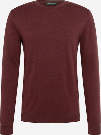 SELECTED HOMME Pullover 'Berg' in weinrot, Produktansicht