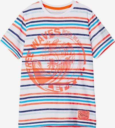NAME IT Shirt in mischfarben / koralle / weiß, Produktansicht