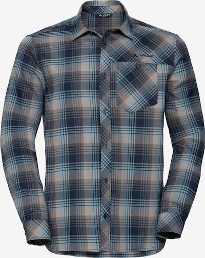 VAUDE Hemd 'Neshan' in ecru / blau / grau, Produktansicht