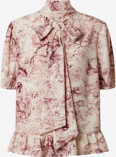 Love Copenhagen Bluse 'Holly' in beige / mischfarben / rot, Produktansicht
