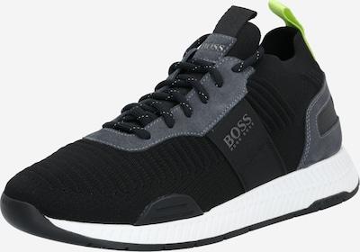 BOSS Sneaker in dunkelgrau / schwarz, Produktansicht