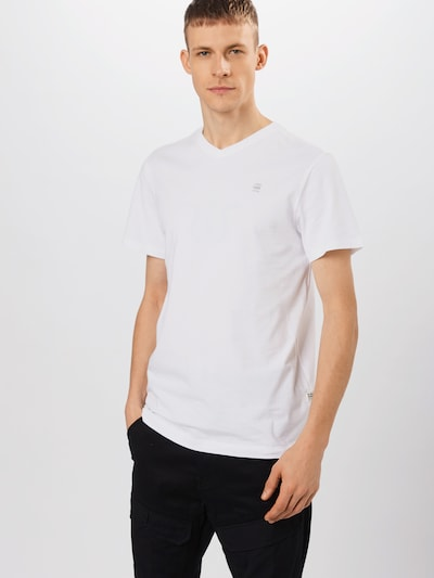 G-Star RAW Shirt in weiß, Modelansicht