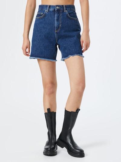 NU-IN Shorts in blau, Modelansicht