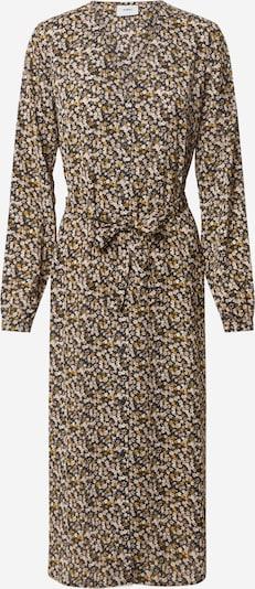 Moves Kleid 'Plissa' in mischfarben / schwarz, Produktansicht