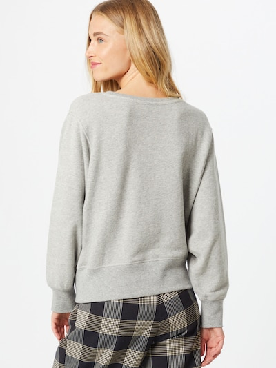 AMERICAN VINTAGE Sweatshirt 'Neaford' in Graumeliert | ABOUT YOU