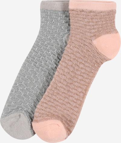 BeckSöndergaard Socken in silbergrau, Produktansicht