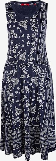 s.Oliver Kleid in dunkelblau / weiß, Produktansicht