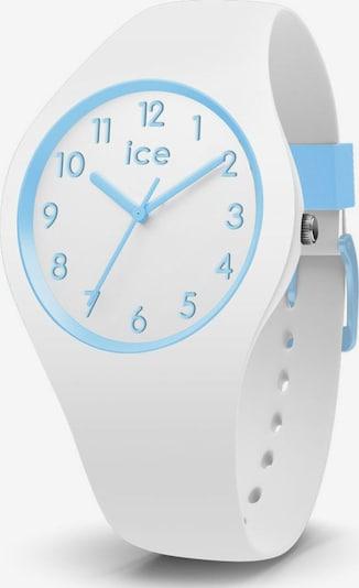 ICE WATCH Uhr 'Ola' in hellblau / naturweiß, Produktansicht