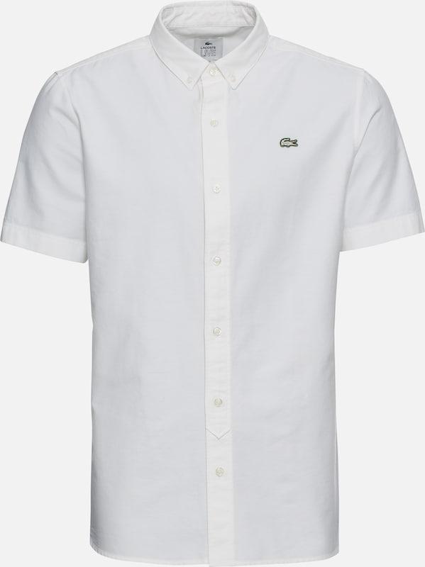Live Manches Blanc 'chemise Lacoste Chemise Courtes' En DH29WIE