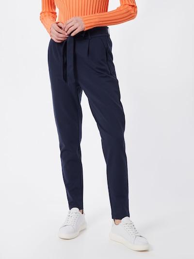 MOSS COPENHAGEN Hose 'Popye' in blau, Modelansicht