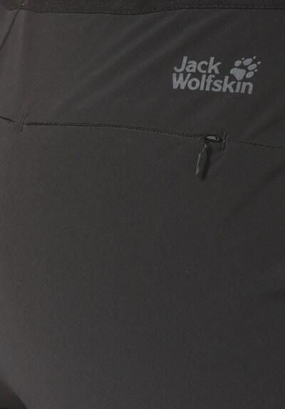 JACK WOLFSKIN Hose in schwarz: Frontalansicht