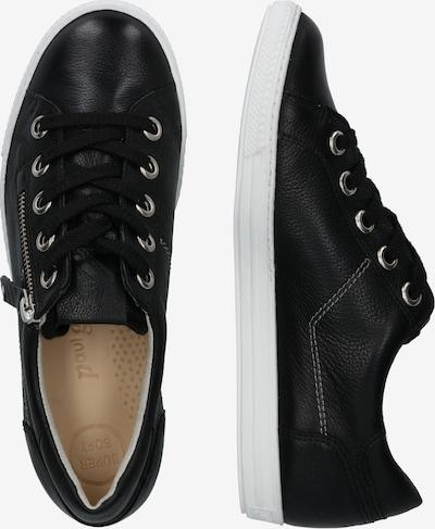 Paul Green Sneakers laag in de kleur Zwart: Zijaanzicht