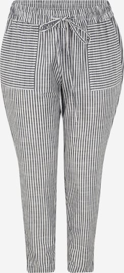 Pantaloni MY TRUE ME pe navy / alb, Vizualizare produs