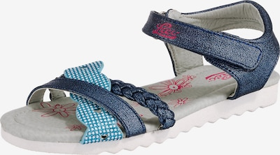 LICO Sandale 'Shannon V' in marine / aqua, Produktansicht