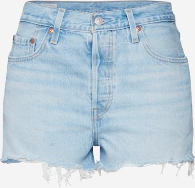 LEVI'S Shorts '501®' in blue denim: Frontalansicht