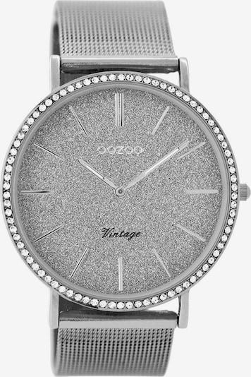 OOZOO Uhr in silber, Produktansicht