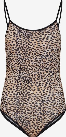 Ragdoll LA Top 'Leopard Bodysuit' - béžová / hnědá, Produkt