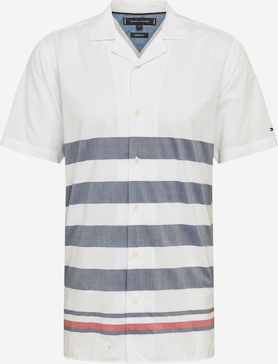 TOMMY HILFIGER Hemd 'BRETON' in dunkelblau / weiß, Produktansicht
