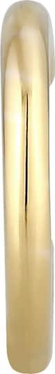 ELLI PREMIUM Ohrringe Earcuff, Minimal in goldgelb / gold, Produktansicht