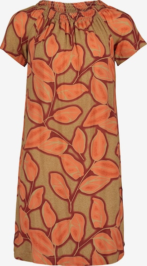 Cartoon Sommerkleid in brokat / orange, Produktansicht