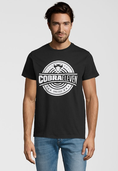 COBRAELEVEN Shirt 'COBRAELEVEN' in de kleur Zwart, Productweergave