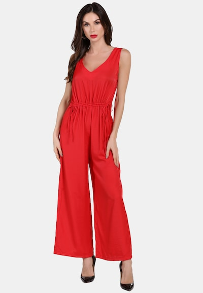 faina Jumpsuit in rot, Modelansicht