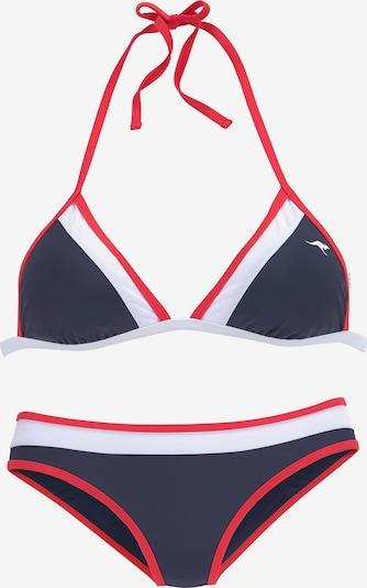 KangaROOS Triangel-Bikini in navy, Produktansicht