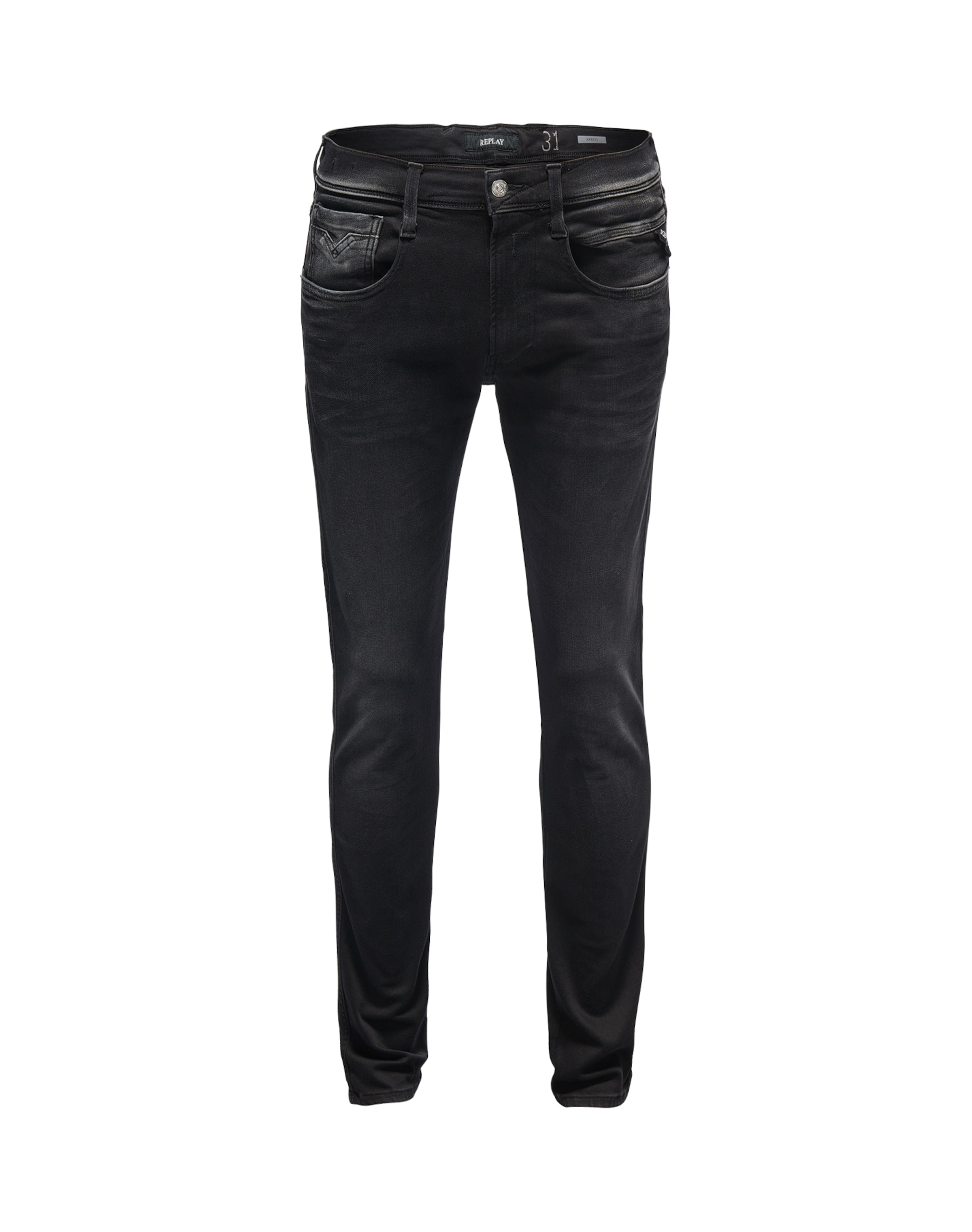 Noir Jean Replay En Denim 'anbass' xWrCedBo