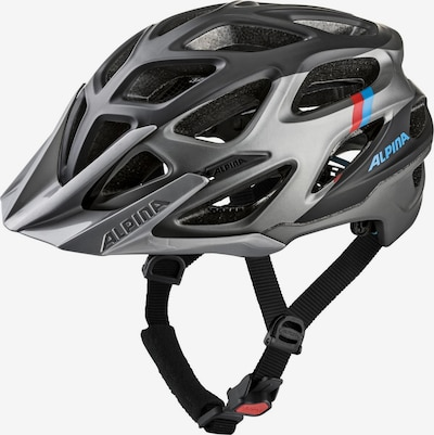 Alpina Fahrradhelm 'MYTHOS 3.0 L.E.' in silbergrau / schwarz, Produktansicht