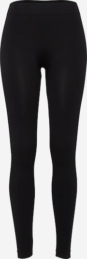 Urban Classics Unifarbene Leggings in schwarz, Produktansicht