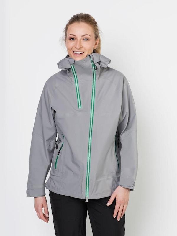 Grau 'exolight Jack Skijacke Women' Jacket Wolfskin Range pZHx6nR
