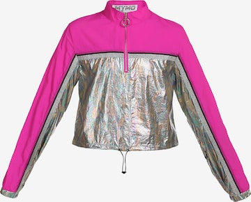 myMo ATHLSR Athletic Jacket in Silver